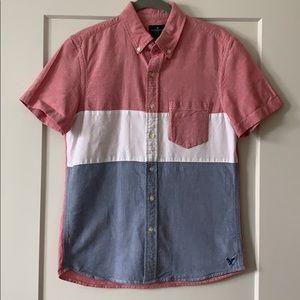 🌸 2/$18 American Eagle Men's Button Up